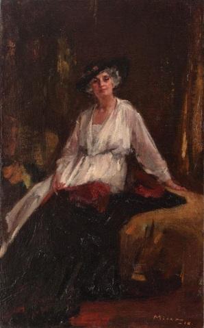 George Demetrescu Mirea - Printesa Aristizza Ghica.