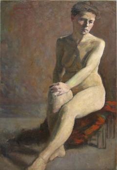 George Demetrescu Mirea - Studiu de nud