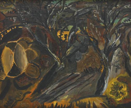 Horia Bernea - Peisaj expresionist
