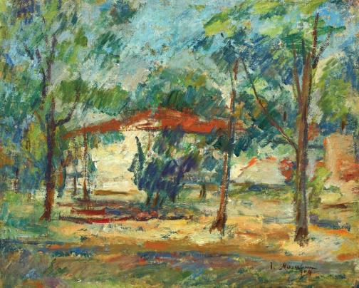 Ion Musceleanu - Casa din pădure