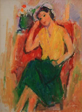 Ion Musceleanu - Fata cu fusta verde