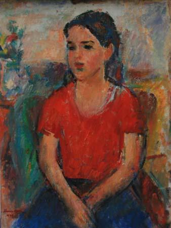 Ion Musceleanu - Fetita cu tricou rosu