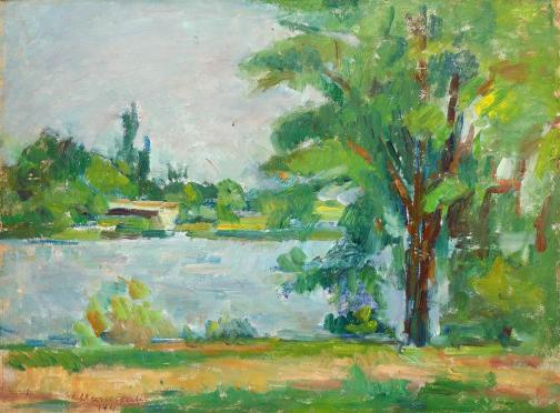 Ion Musceleanu - Peisaj din Mogoșoaia
