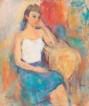 Ion Musceleanu - Studenta