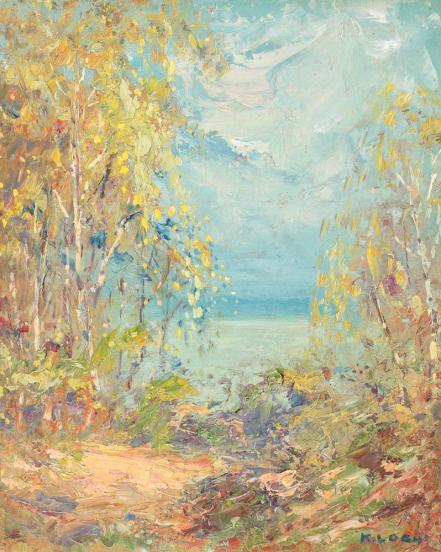 Kimon Loghi - Pe malul lacului