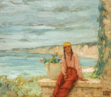 Kimon Loghi - Pe malul mării