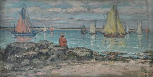 Kimon Loghi - Pe malul mării.