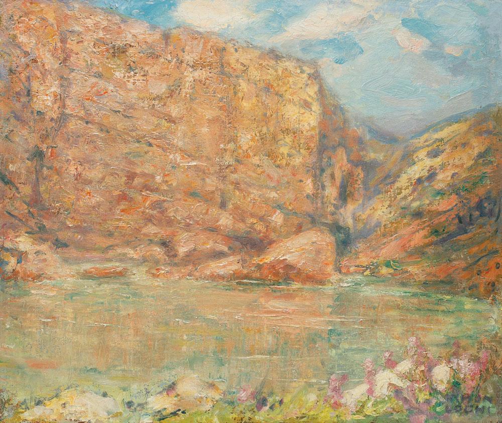 Kimon Loghi - Peisaj romantic
