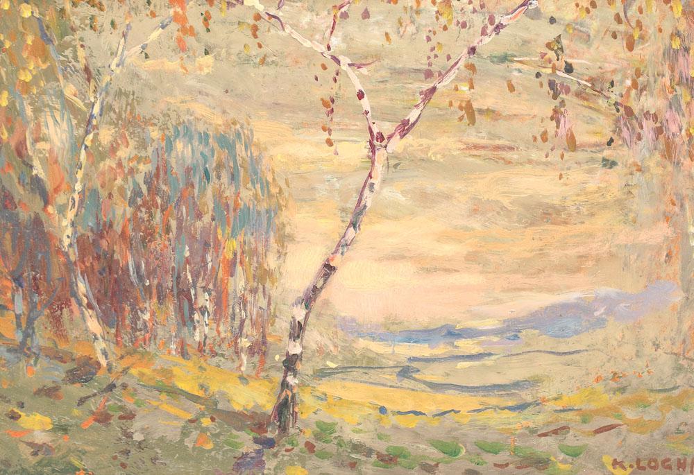 Kimon Loghi - Peisaj romantic.