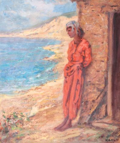 Kimon Loghi - Tătăroaică la Balcic
