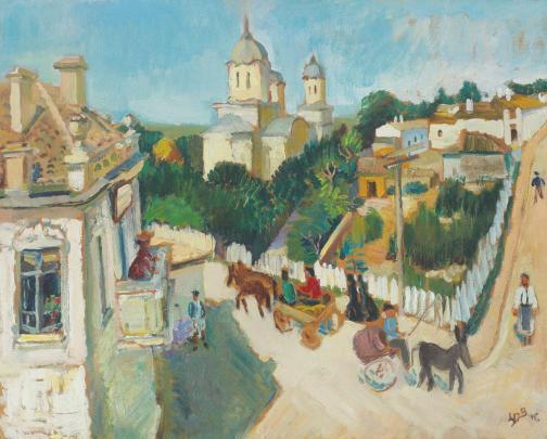 Lucia Bălăcescu Demetriade - Mangalia veche