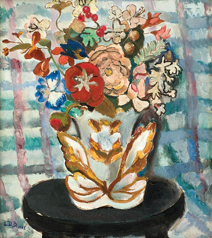 Lucia Bălăcescu Demetriade - Vas cu flori