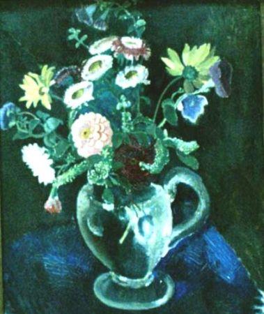 Lucia Bălăcescu Demetriade - Vas cu flori.