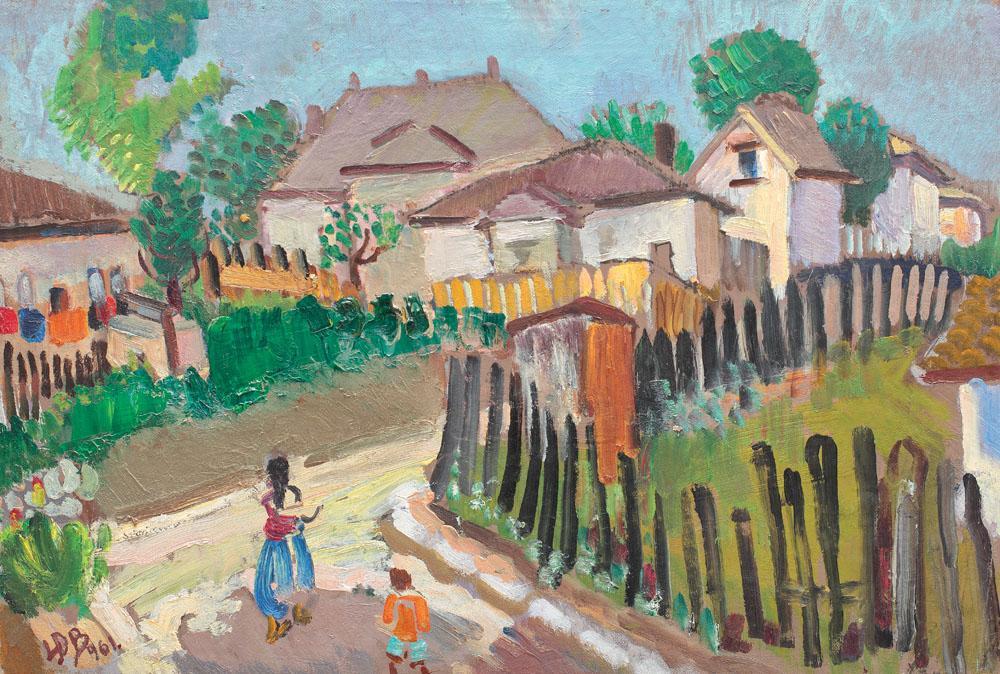Lucia Bălăcescu Demetriade - Viaţa la sat