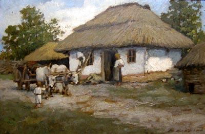 Ludovic Bassarab - Casa taraneasca