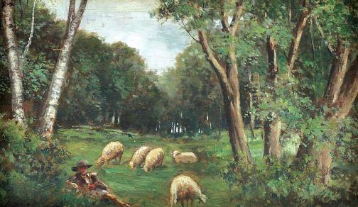 Ludovic Bassarab - Ciobanas cu oi
