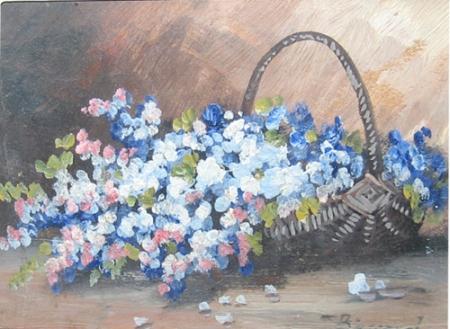 Ludovic Bassarab - Cos cu flori