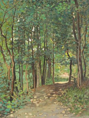 Ludovic Bassarab - Drum prin pădure