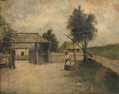 Ludovic Bassarab - Peisaj rural