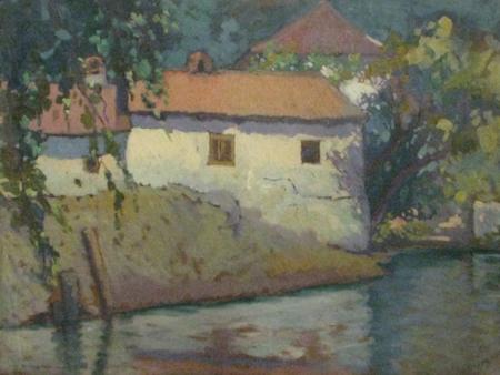 Marin H. Georgescu - Casa la malul apei