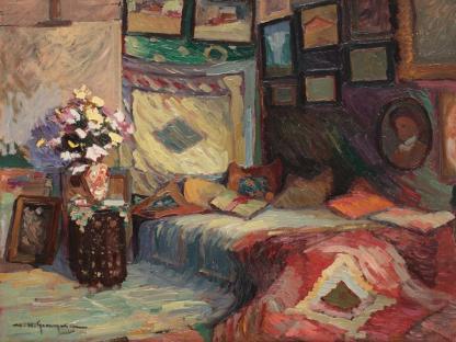 Marin H. Georgescu - Interiorul artistului