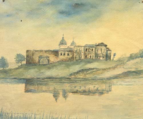 Marin H. Georgescu - Manastire pe malul lacului