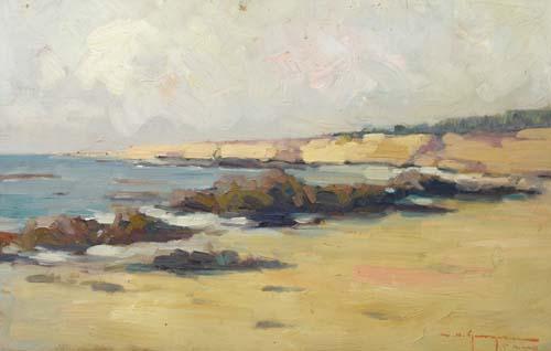Marin H. Georgescu - Plaja in Bretania