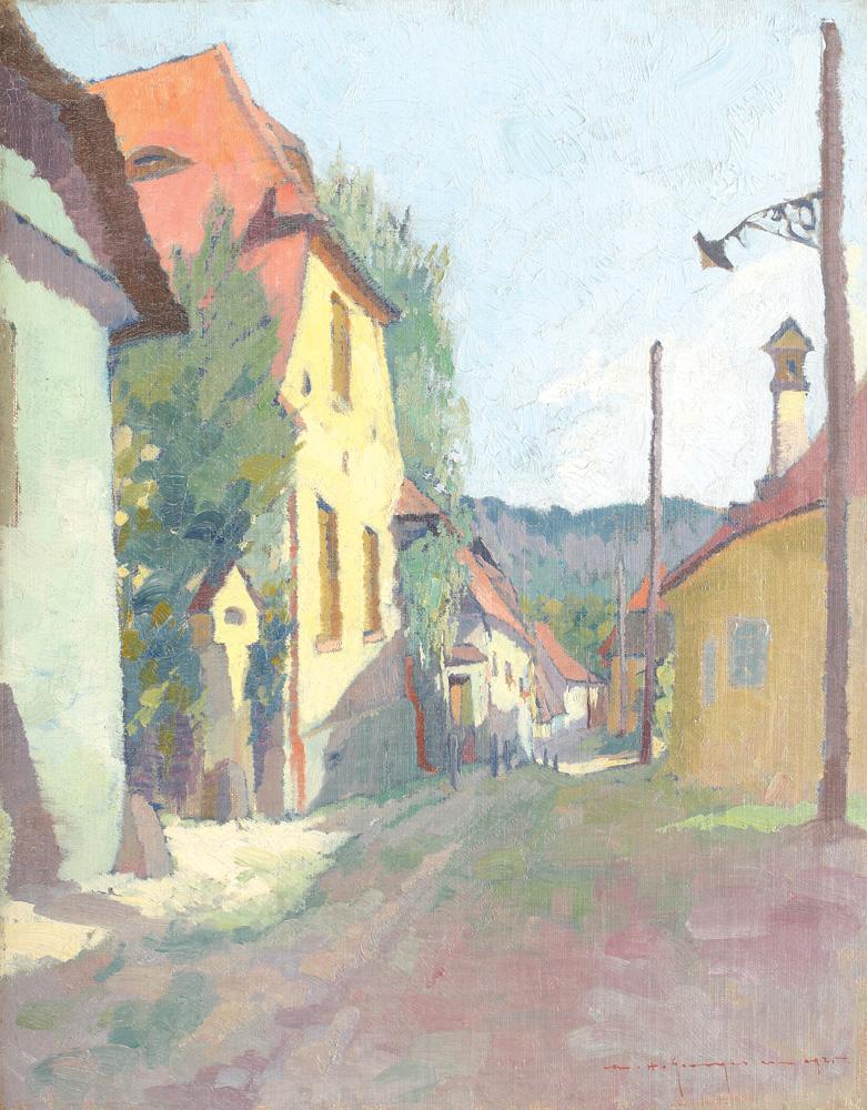 Marin H. Georgescu - Sat în Ardeal