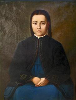 Mişu Popp - Portret de fetiţă