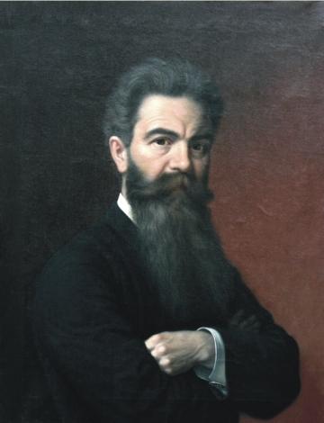 Mișu Popp - Autoportret.