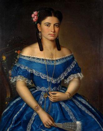 Mișu Popp - Femeia in albastru