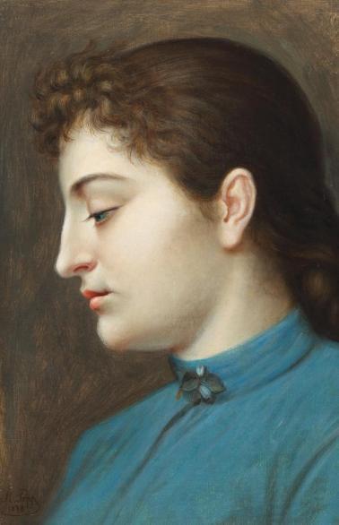 Mișu Popp - Fiica artistului