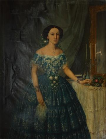 Mișu Popp - Portret de doamna.