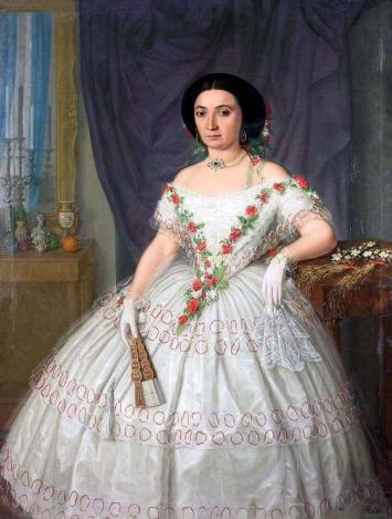 Mișu Popp - Portret de femeie.