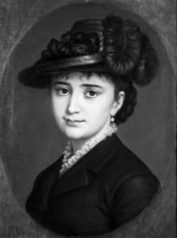 Mișu Popp - Portretul Elisei Petrovici Petreanu
