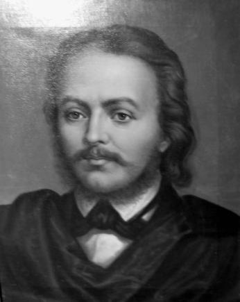 Mișu Popp - Portretul lui Gheorghe Lazăr