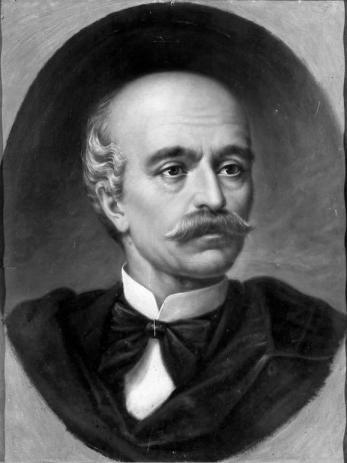 Mișu Popp - Portretul lui Vasile Alecsandri
