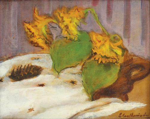 Micaela Eleutheriade - Floarea-soarelui