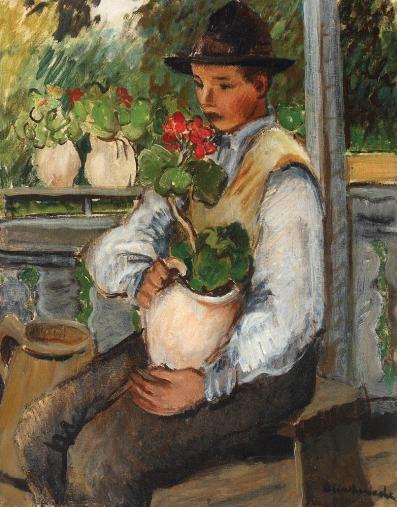 Micaela Eleutheriade - Micul grădinar