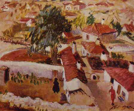 Micaela Eleutheriade - Peisaj la Balcic
