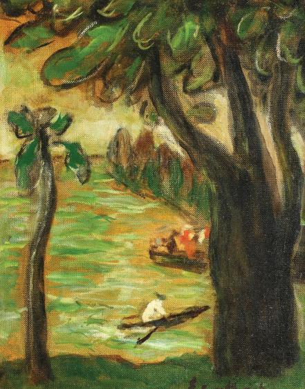 Micaela Eleutheriade - Plimbare pe lac