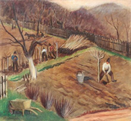 Micaela Eleutheriade - Primăvară la sat