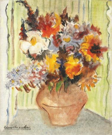 Micaela Eleutheriade - Vas cu flori