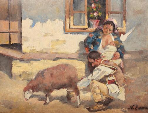 Nicolae Enea - Familie de țărani