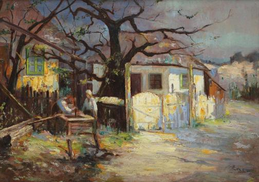 Nicolae Enea - La fântână