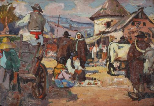 Nicolae Enea - Târg de duminică