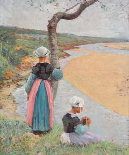 Nicolae Grant - Bretone la râu