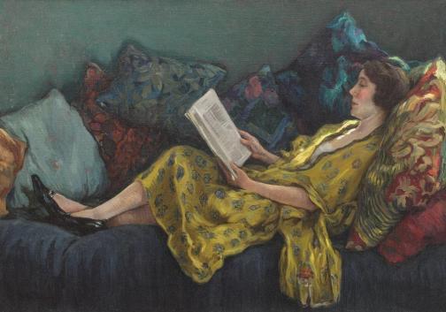 Nicolae Grant - Lectură în interior