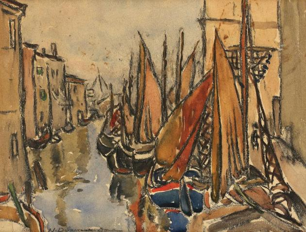 Niculina Dona Delavrancea - Canal venețian