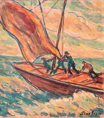 Paul Scorţescu - Cu barca în larg